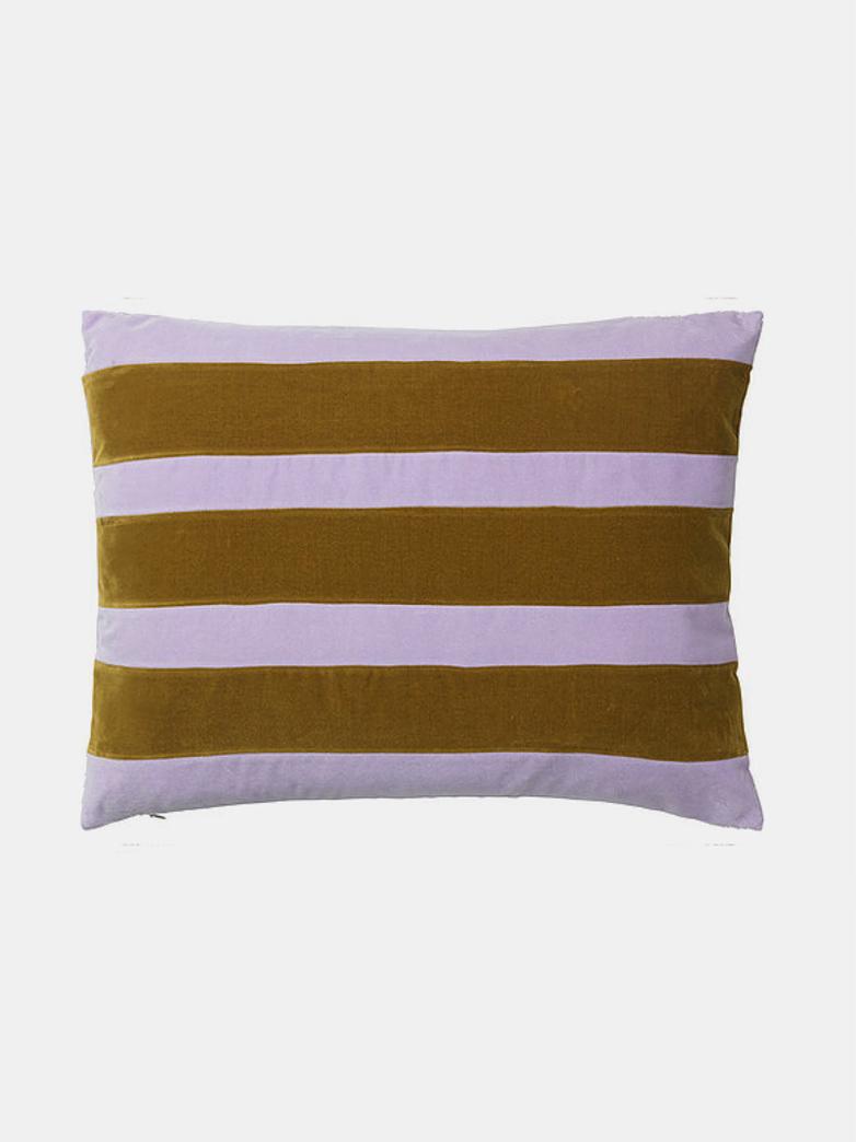 Zarah Cushion - Lavender/Caramel - 50 x 70