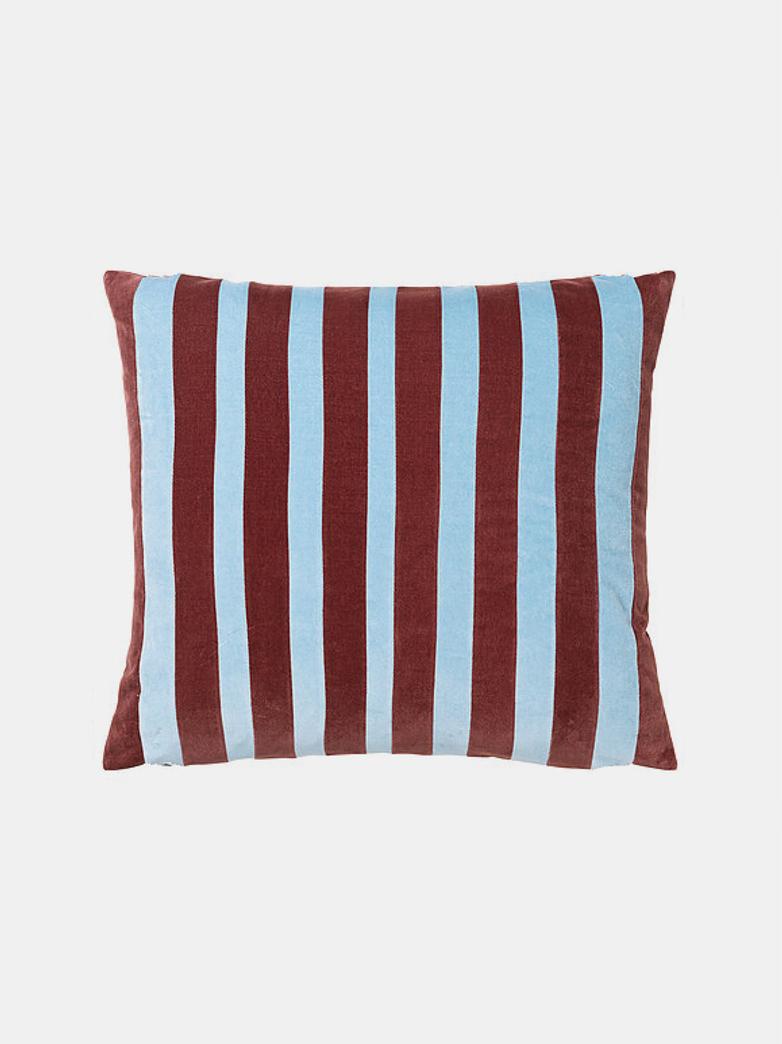 Millie Cushion - Prune/Blue Dust - 50 x 60