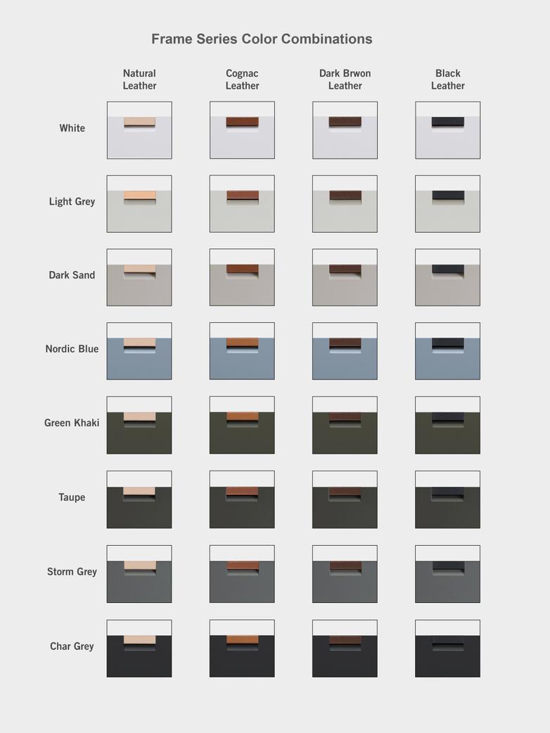 Frame Drawer Low