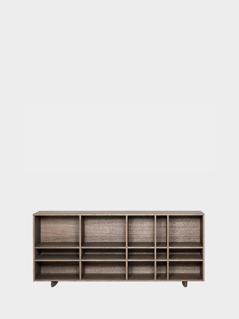 Kilt Open 137 - Dark Smoked Stained Oak