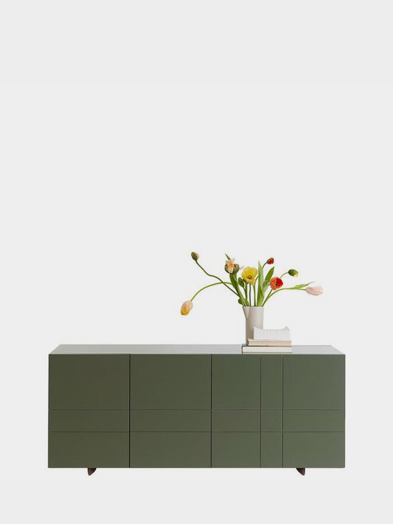 Kilt Sideboard 137 - Green Khaki