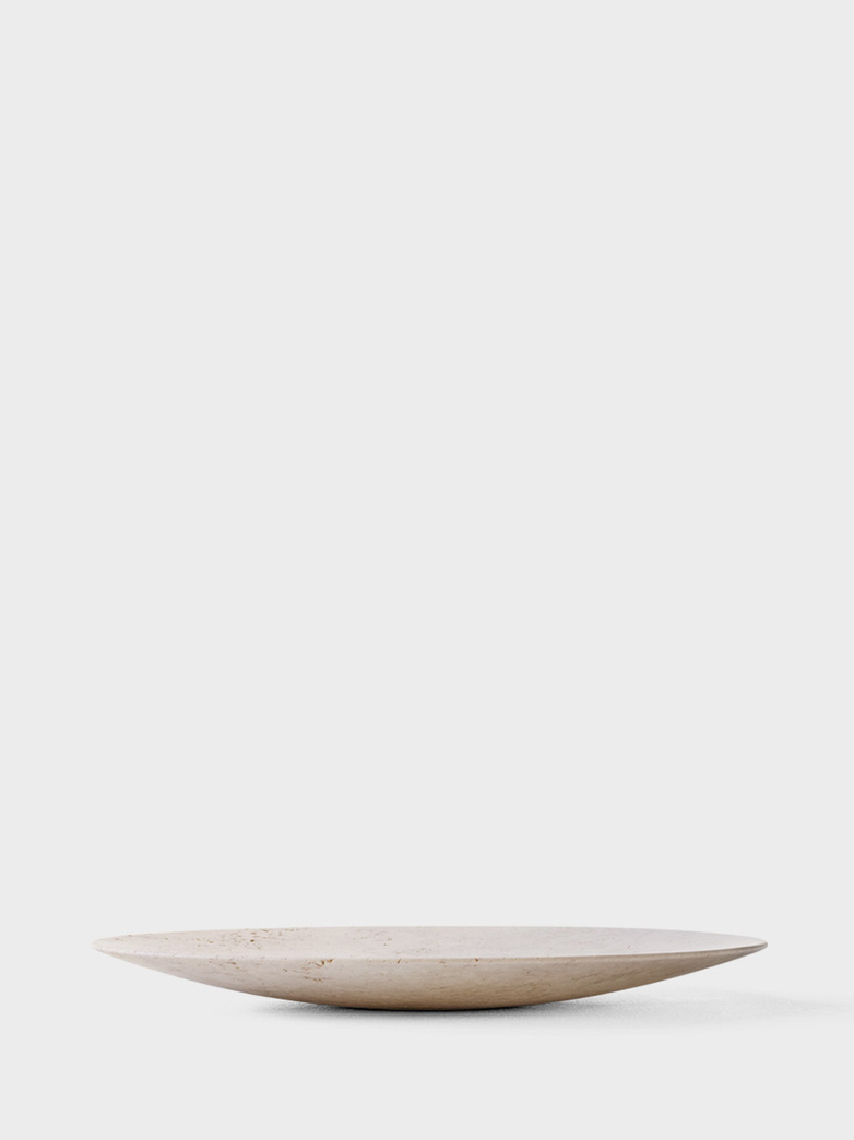 Collect Plate SC55 Travertine - Ø50 cm