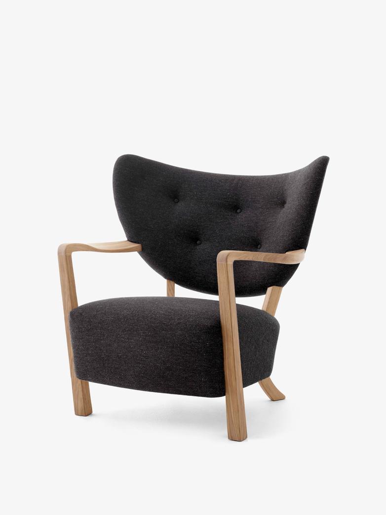 Wulff Lounge Chair - Hallingdal 376 - Oak