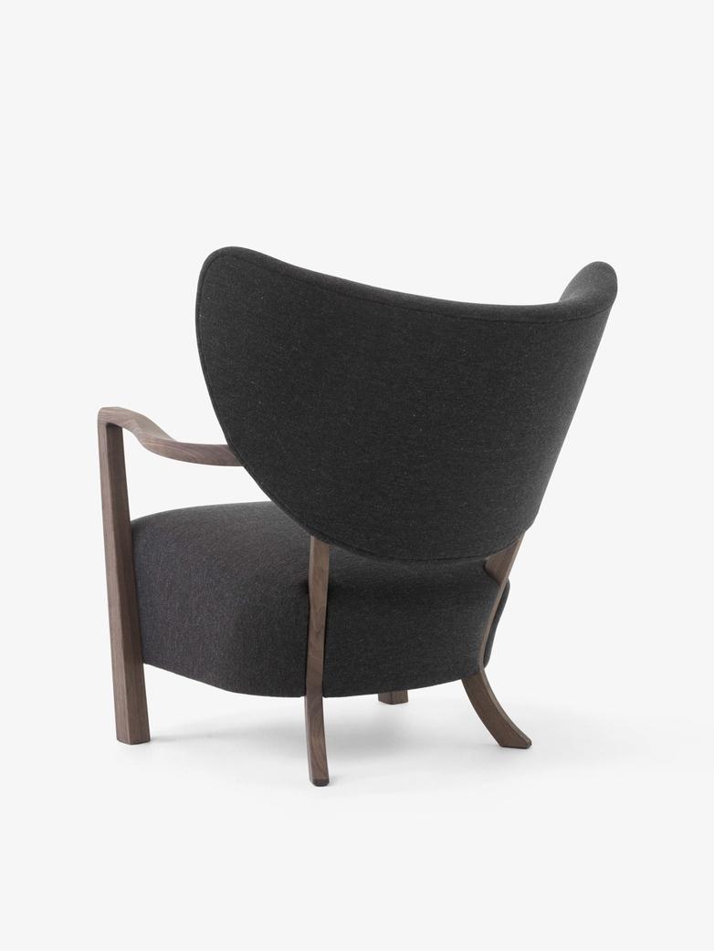 Wulff Lounge Chair - Hallingdal 376 - Walnut