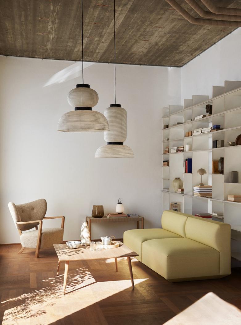 Wulff Lounge Chair - Karakorum 003 - Oak