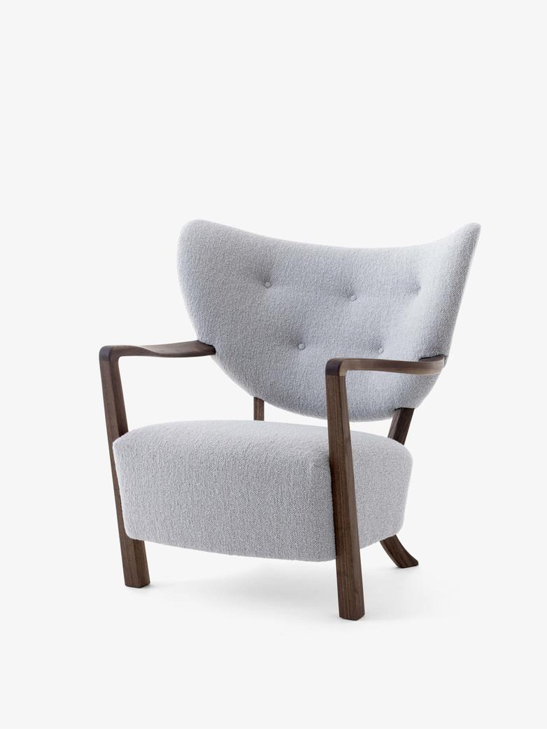 Wulff Lounge Chair  - Karandash 005 - Walnut