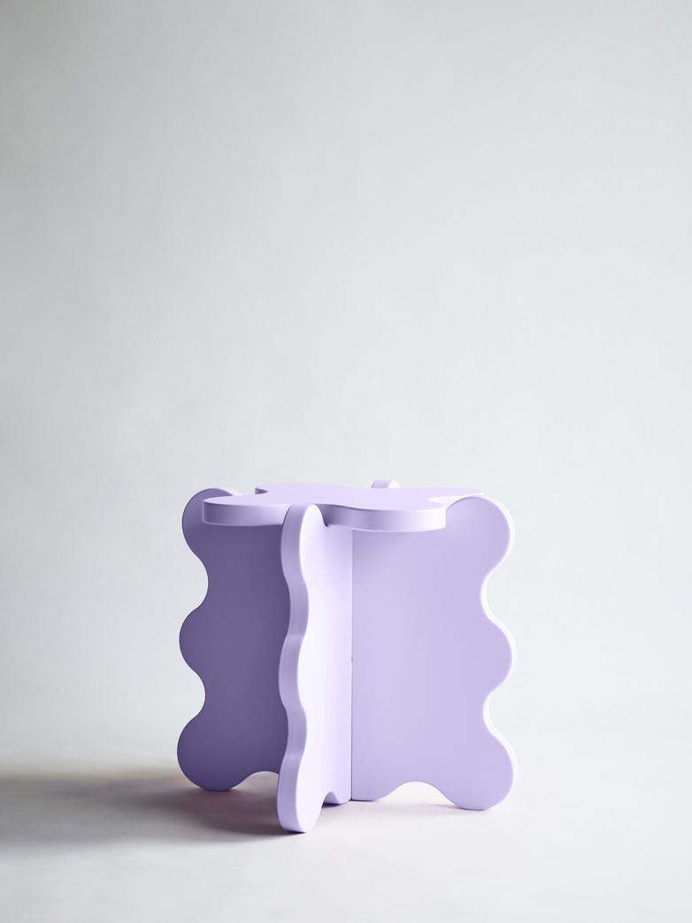 Curvy Table Mini - Lilac