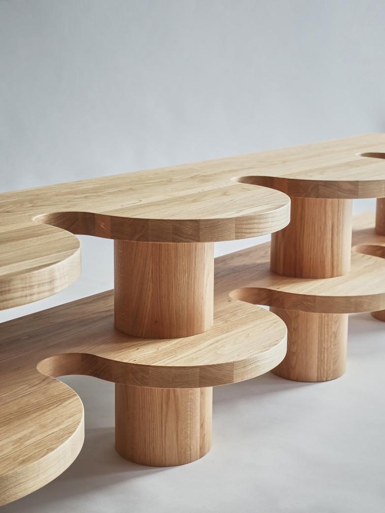 Curvy Sideboard - Oak
