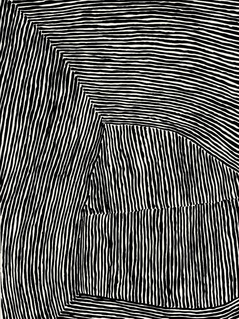 The Line no.10 - 70 x 100
