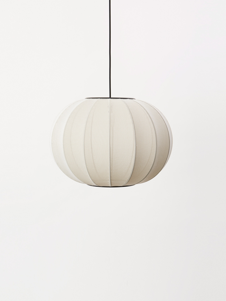 Knit-Wit Pendant 45 cm - Pearl White