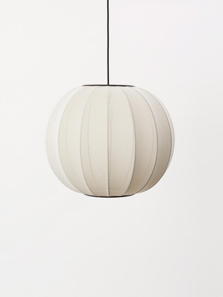 Knit-Wit Pendant 60 cm - Pearl White