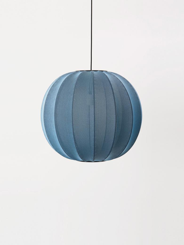 Knit-Wit Pendant 60 cm - Blue Stone