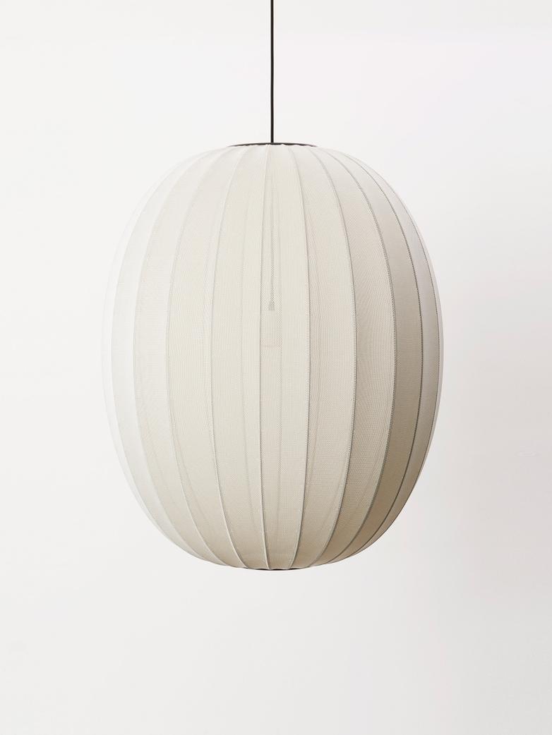 Knit-Wit Pendant 65 cm - Pearl White
