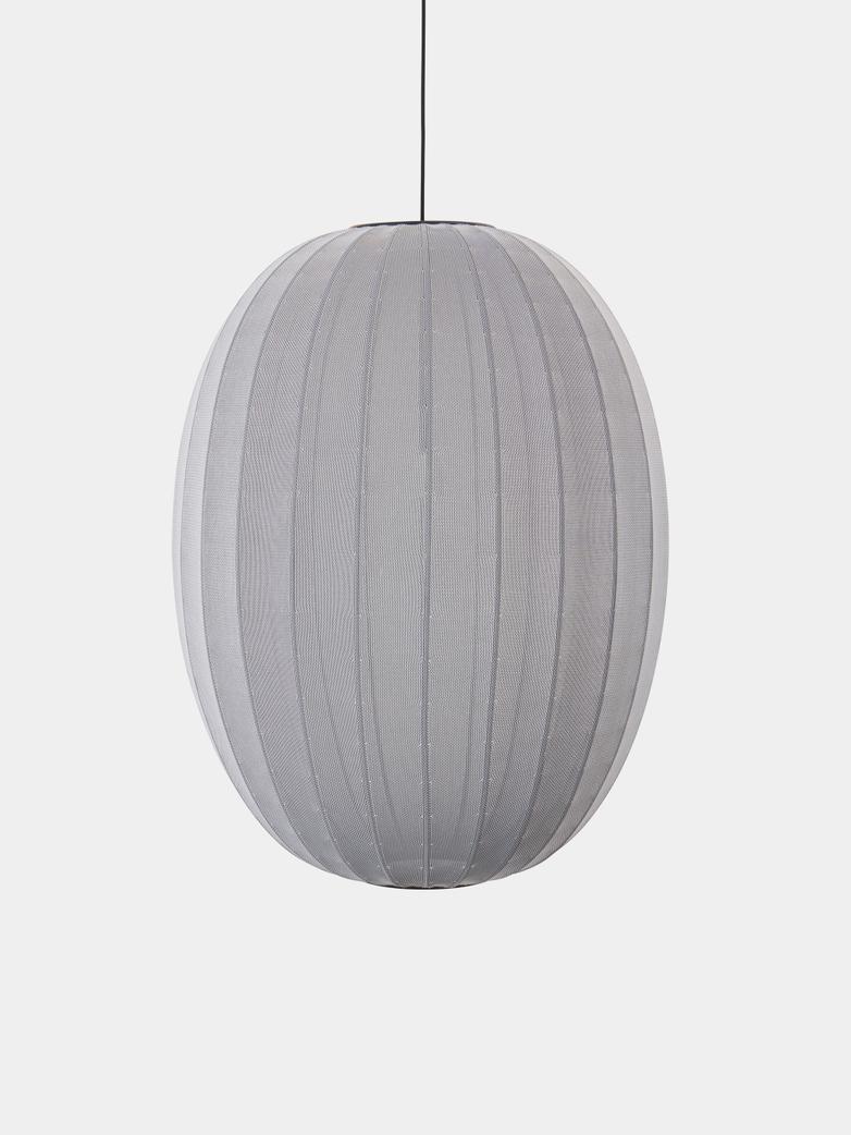 Knit-Wit Pendant 65 cm - Silver