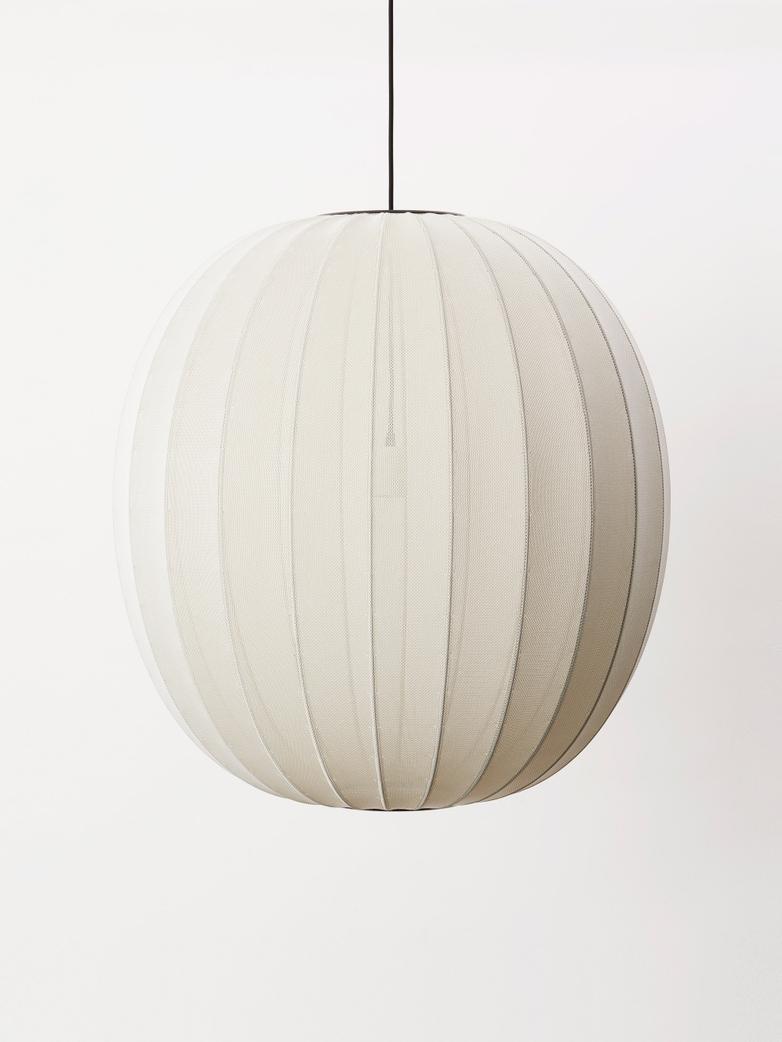 Knit-Wit Pendant 75 cm - Pearl White