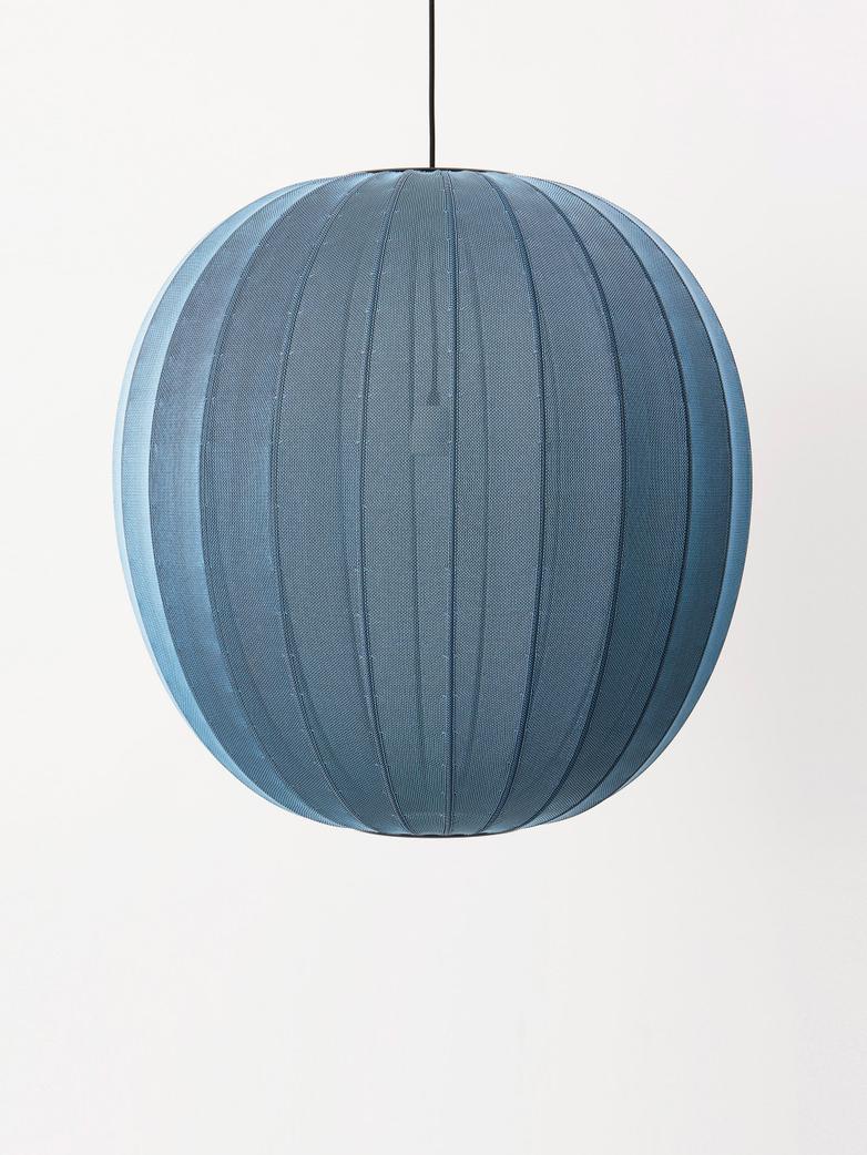 Knit-Wit Pendant 75 cm - Blue Stone