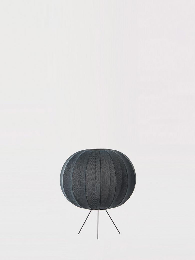 Knit-Wit Floor Lamp Low 45 cm - Black