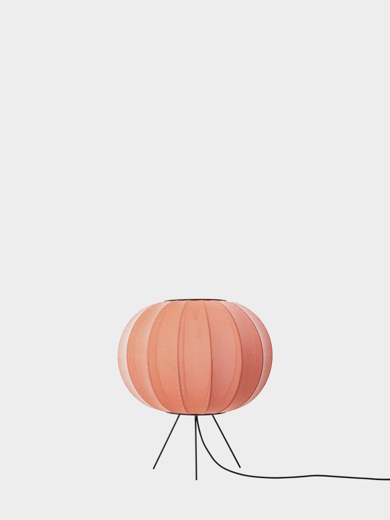 Knit-Wit Floor Lamp Low 45 cm - Coral