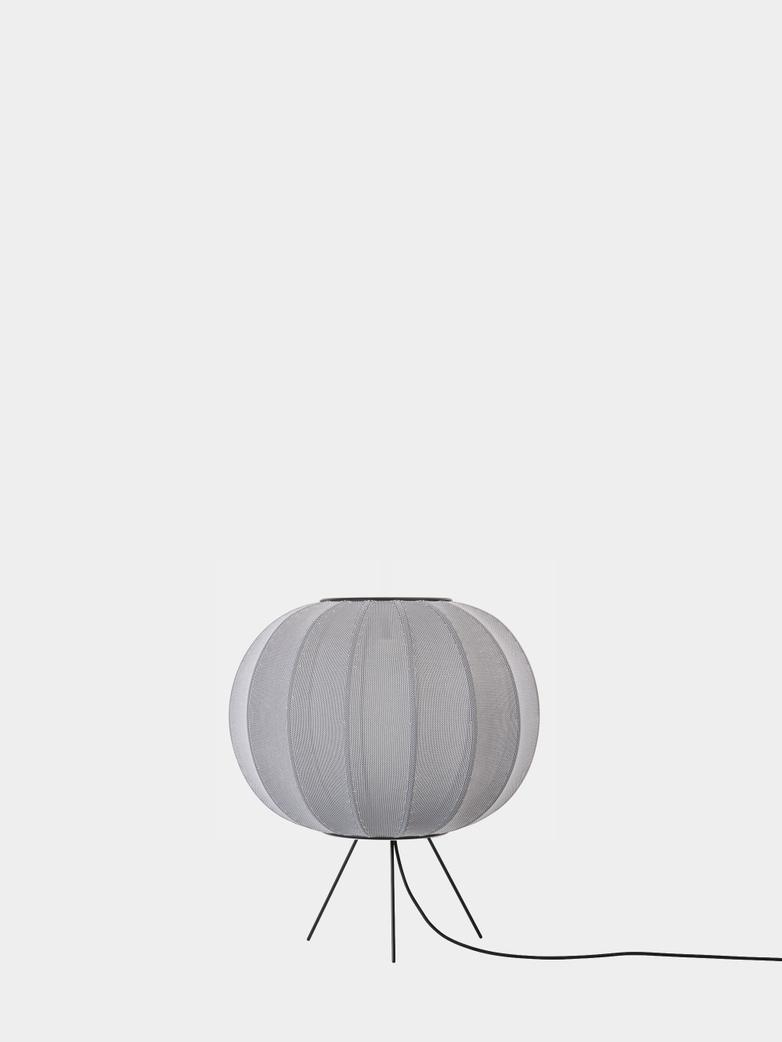 Knit-Wit Floor Lamp Low 45 cm - Silver