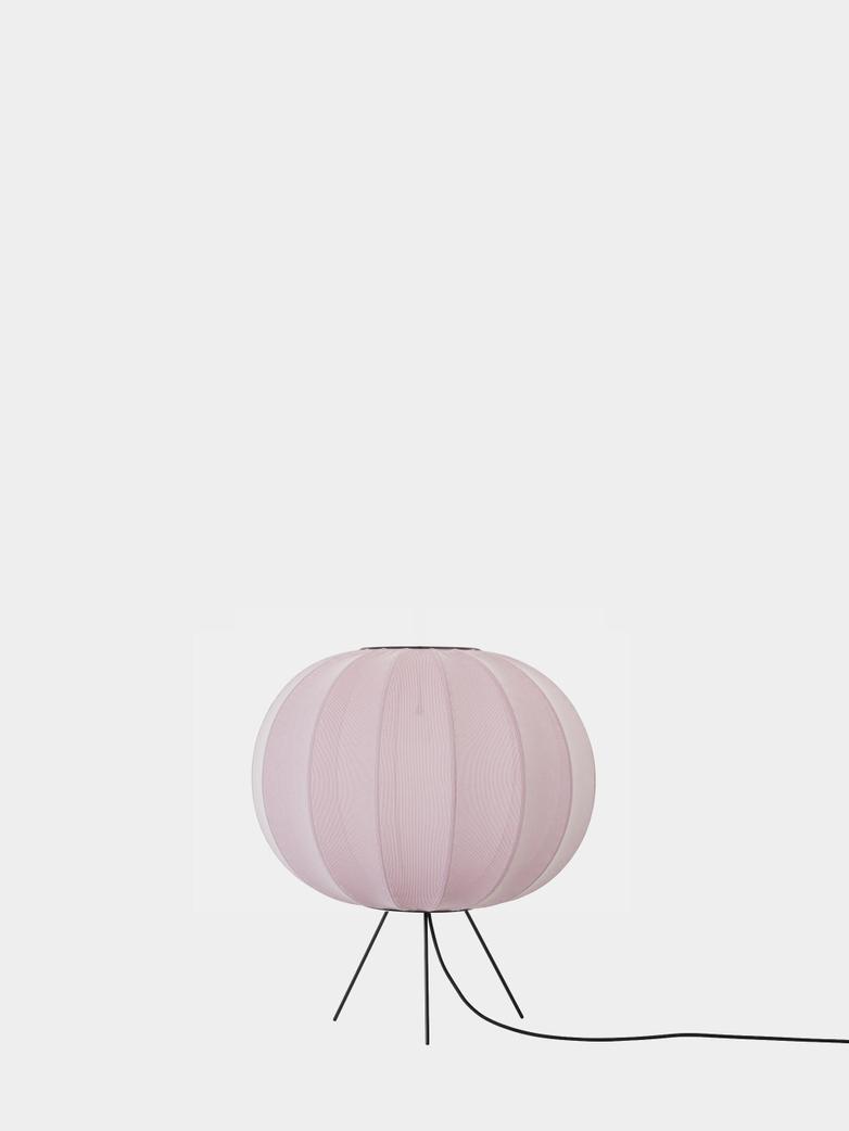 Knit-Wit Floor Lamp Low 45 cm - Light Pink