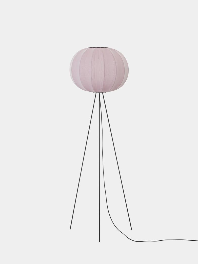 Knit-Wit Round Floor Lamp High 45 - Light Pink