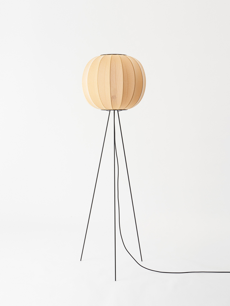 Knit-Wit Round Floor Lamp High 45 - Sunrise
