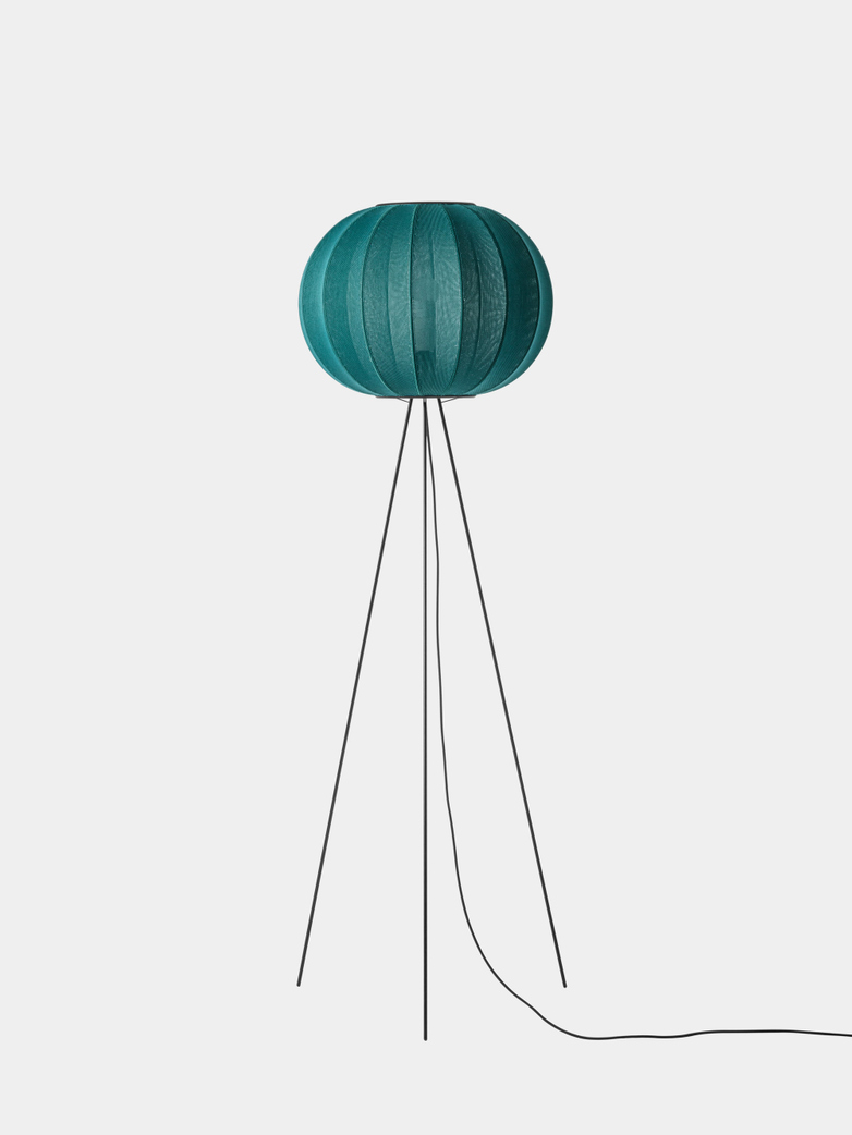 Knit-Wit Round Floor Lamp High 45 - Seagrass