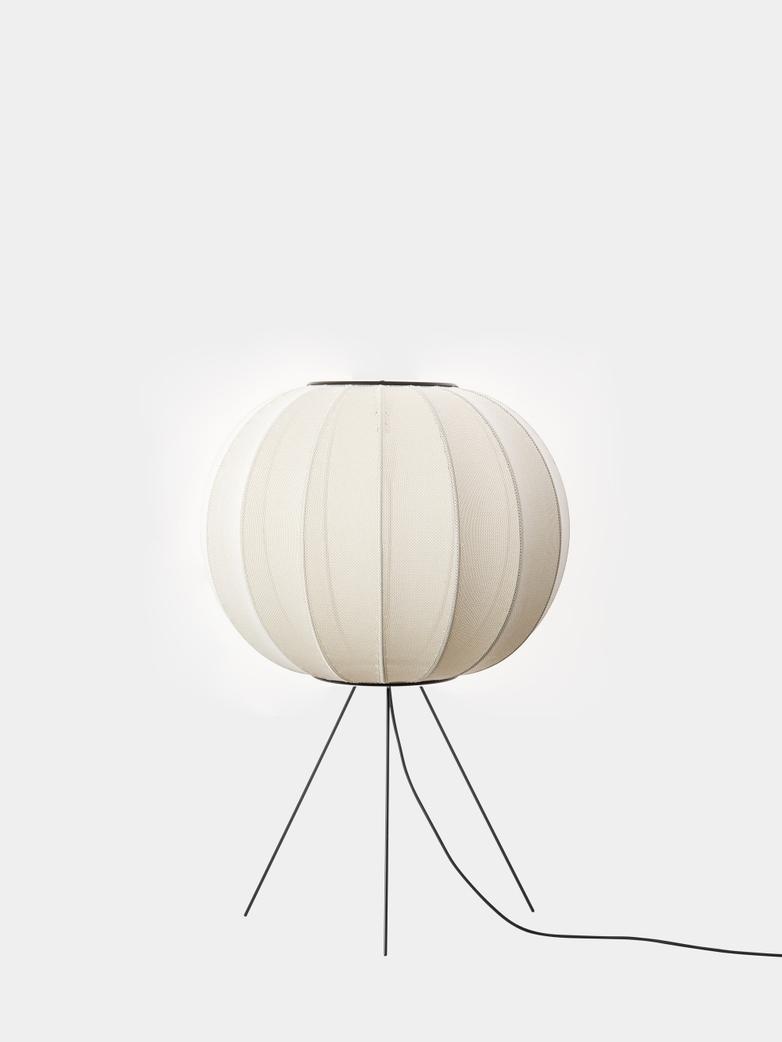 Knit-Wit Floor Lamp Medium 60 cm - Pearl White