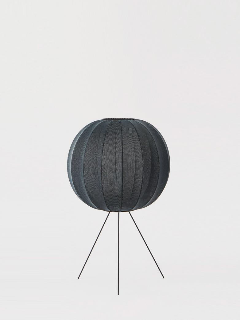 Knit-Wit Floor Lamp Medium 60  cm - Black