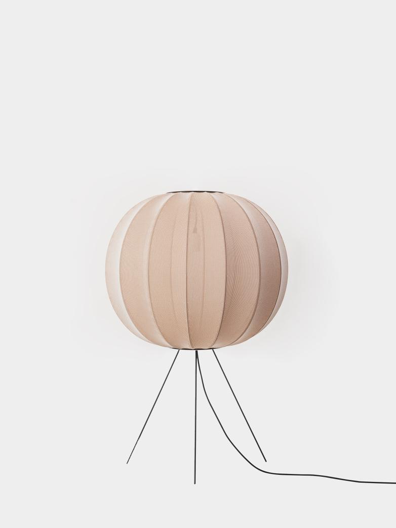 Knit-Wit Floor Lamp Medium 60  cm - Sand Stone