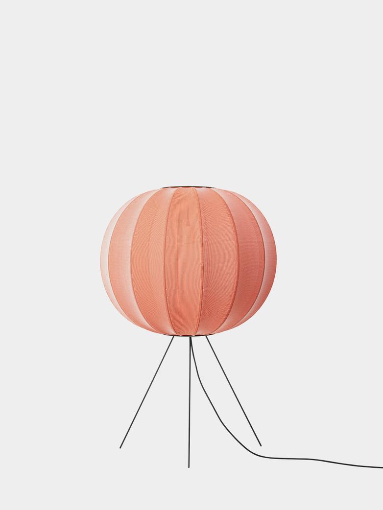 Knit-Wit Floor Lamp Medium 60  cm - Coral