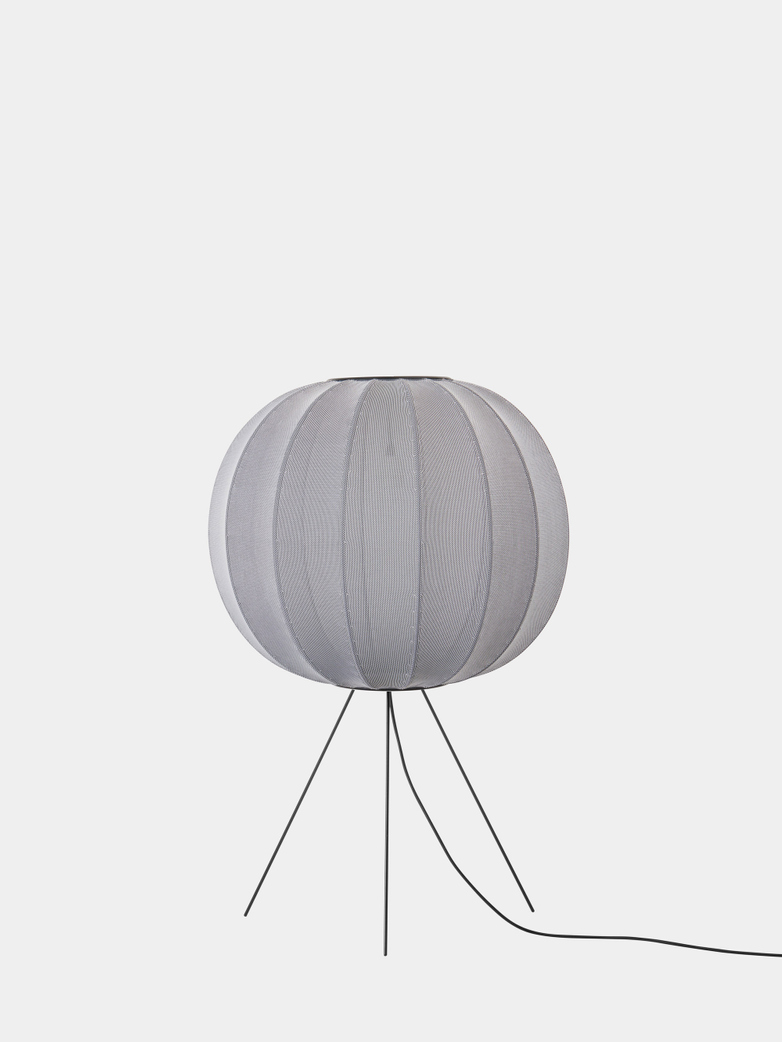 Knit-Wit Floor Lamp Medium 60  cm - Silver