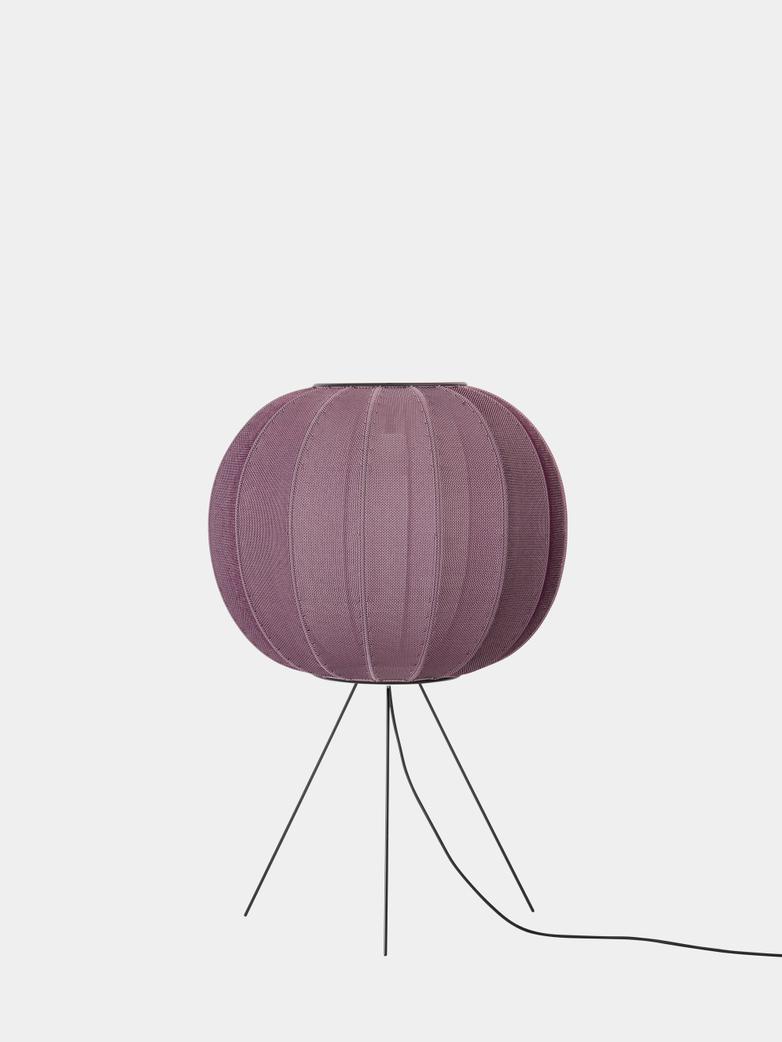 Knit-Wit Floor Lamp Medium 60  cm - Burgundy