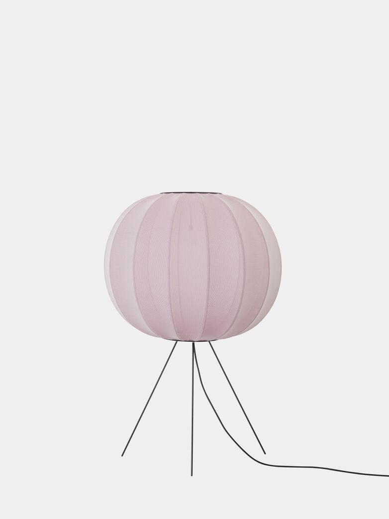 Knit-Wit Floor Lamp Medium 60  cm - Light Pink