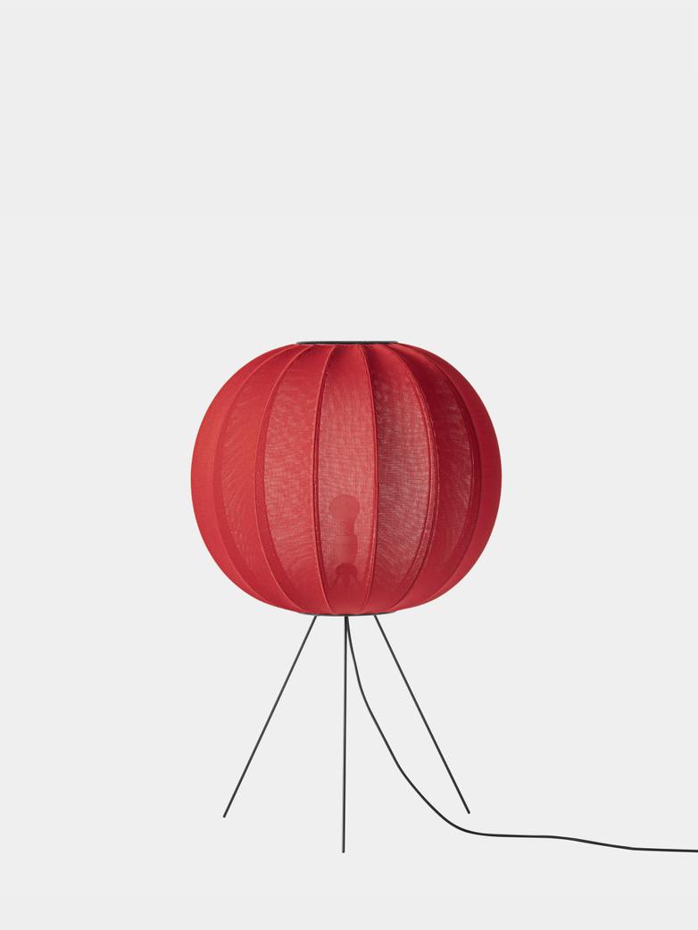Knit-Wit Floor Lamp Medium 60  cm - Maple Red