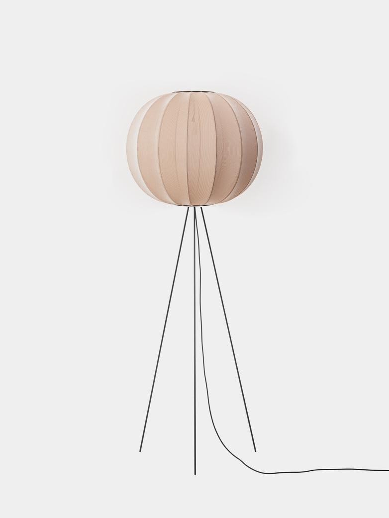 Knit-Wit Floor Lamp High 60 cm - Sand Stone