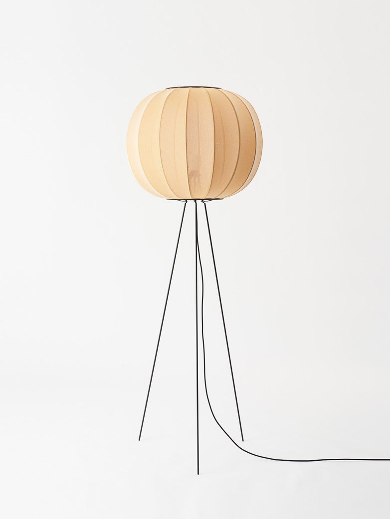 Knit-Wit Floor Lamp High 60 cm - Sunrise
