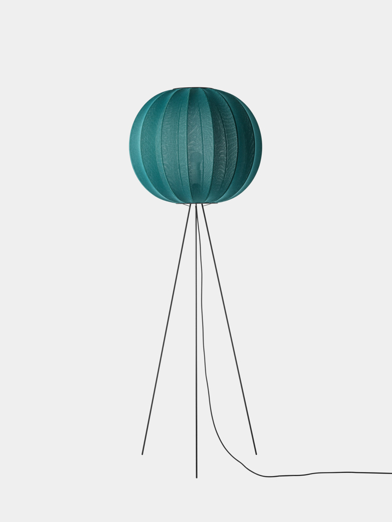 Knit-Wit Floor Lamp High 60 cm - Seagrass