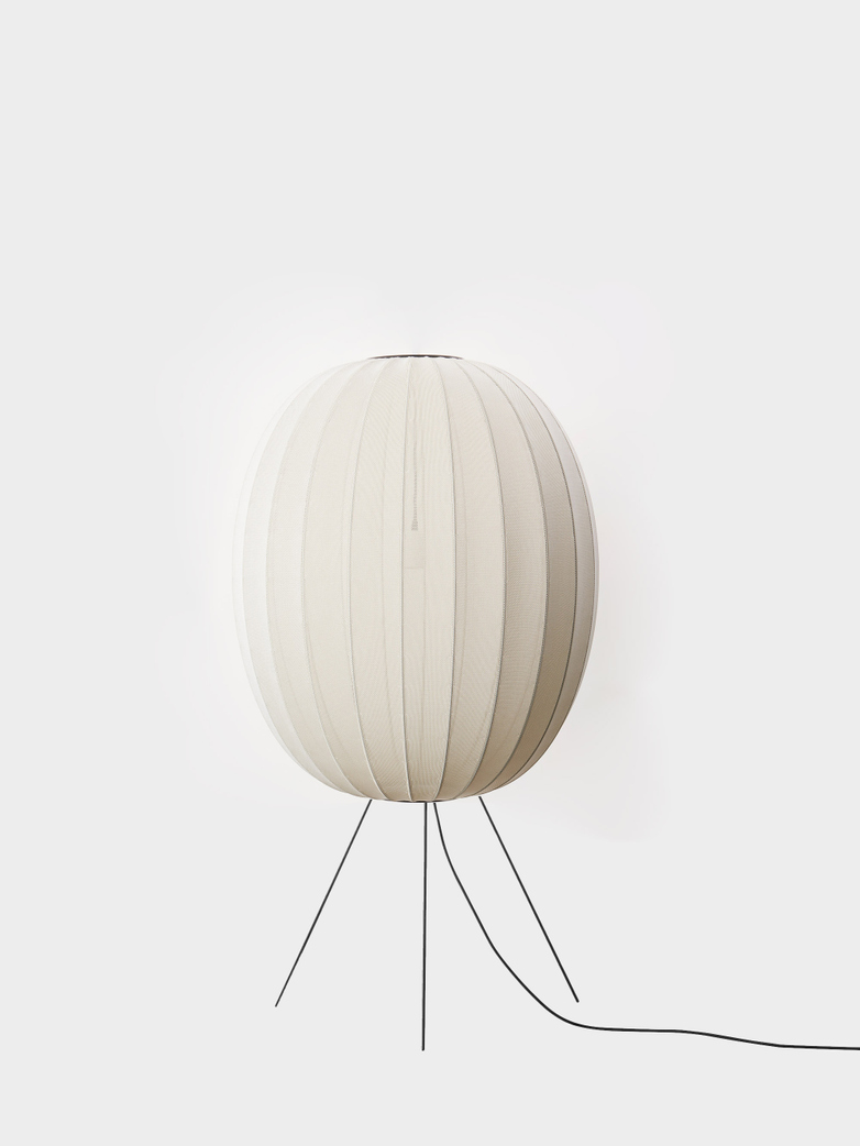 Knit-Wit Floor Lamp High 65 - Pearl White
