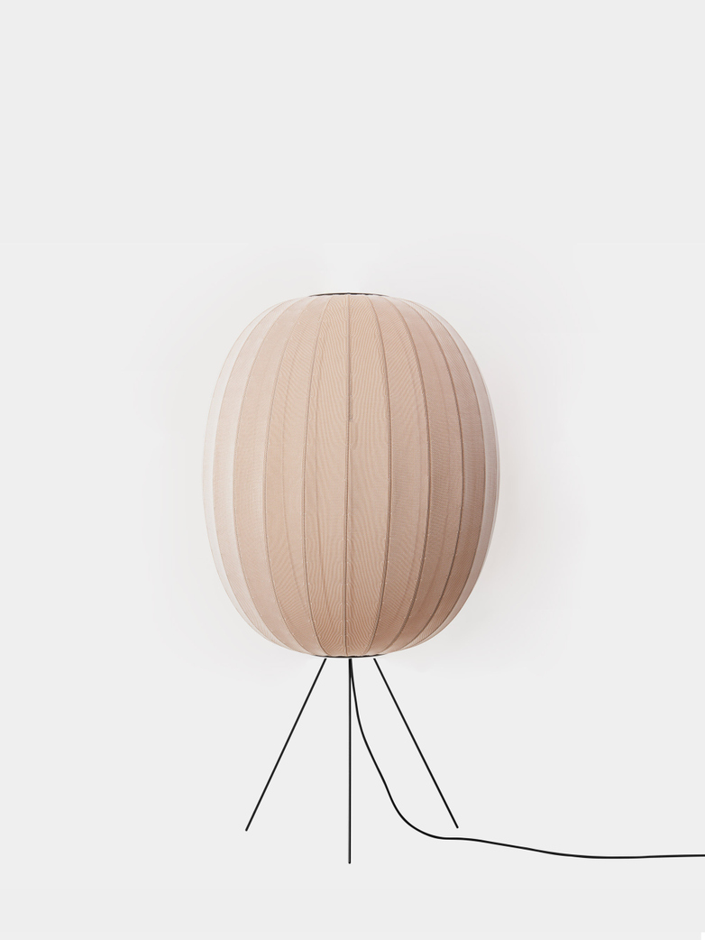Knit-Wit Floor Lamp High 65 - Sand Stone