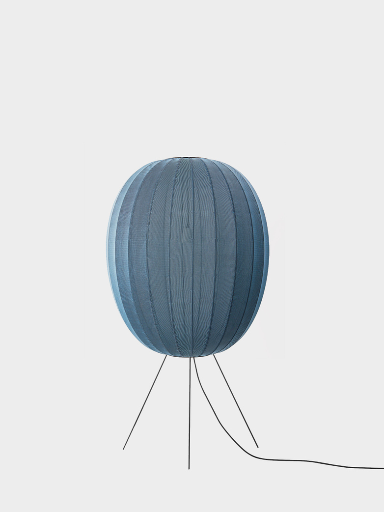 Knit-Wit Floor Lamp High 65 - Blue Stone