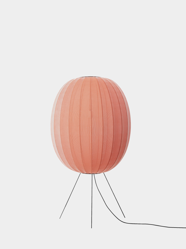 Knit-Wit Floor Lamp High 65 - Coral