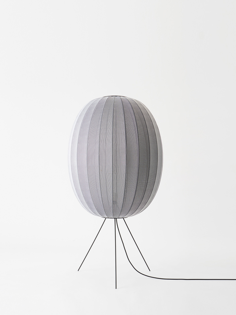 Knit-Wit Floor Lamp High 65 - Silver