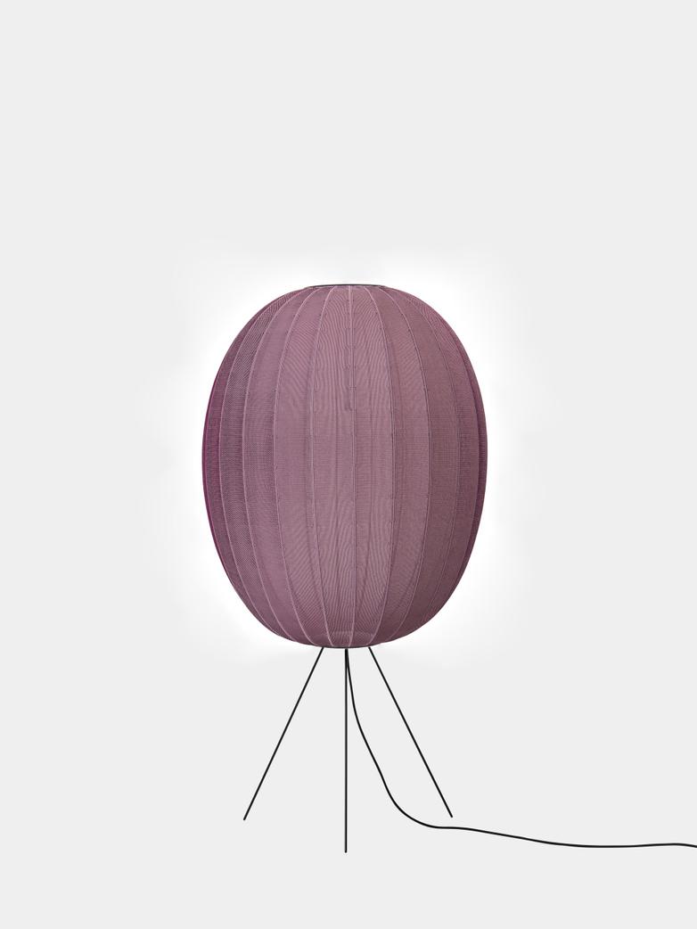 Knit-Wit Floor Lamp High 65 - Burgundy