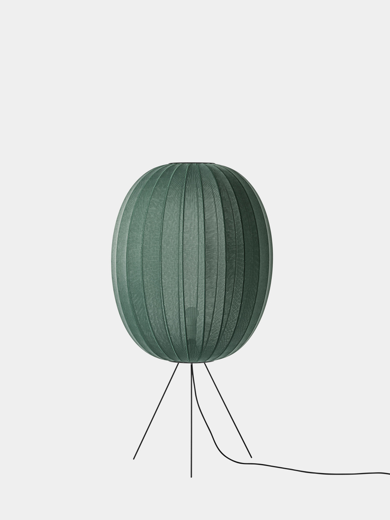Knit-Wit Floor Lamp High 65 - Tweed Green