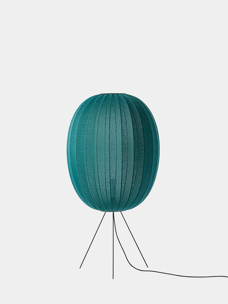 Knit-Wit Floor Lamp High 65 - Seagrass