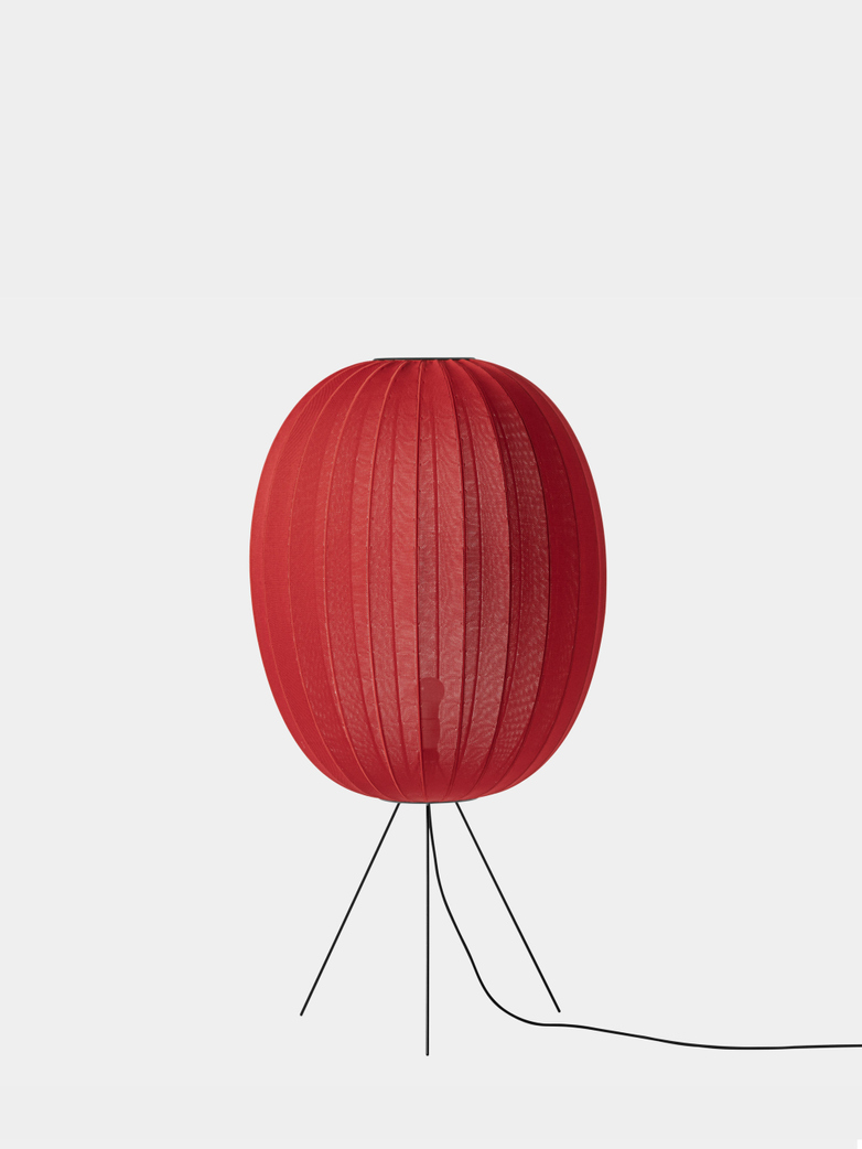 Knit-Wit Floor Lamp High 65 - Maple Red