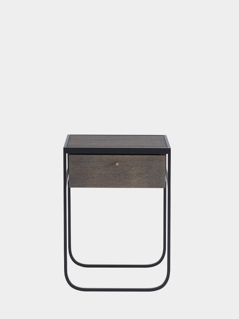 Nati Tati Drawer High - Char Grey - Dark Smoked Oak