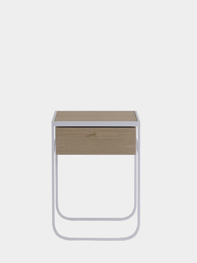 Nati Tati Drawer High - White -White Stained Oak