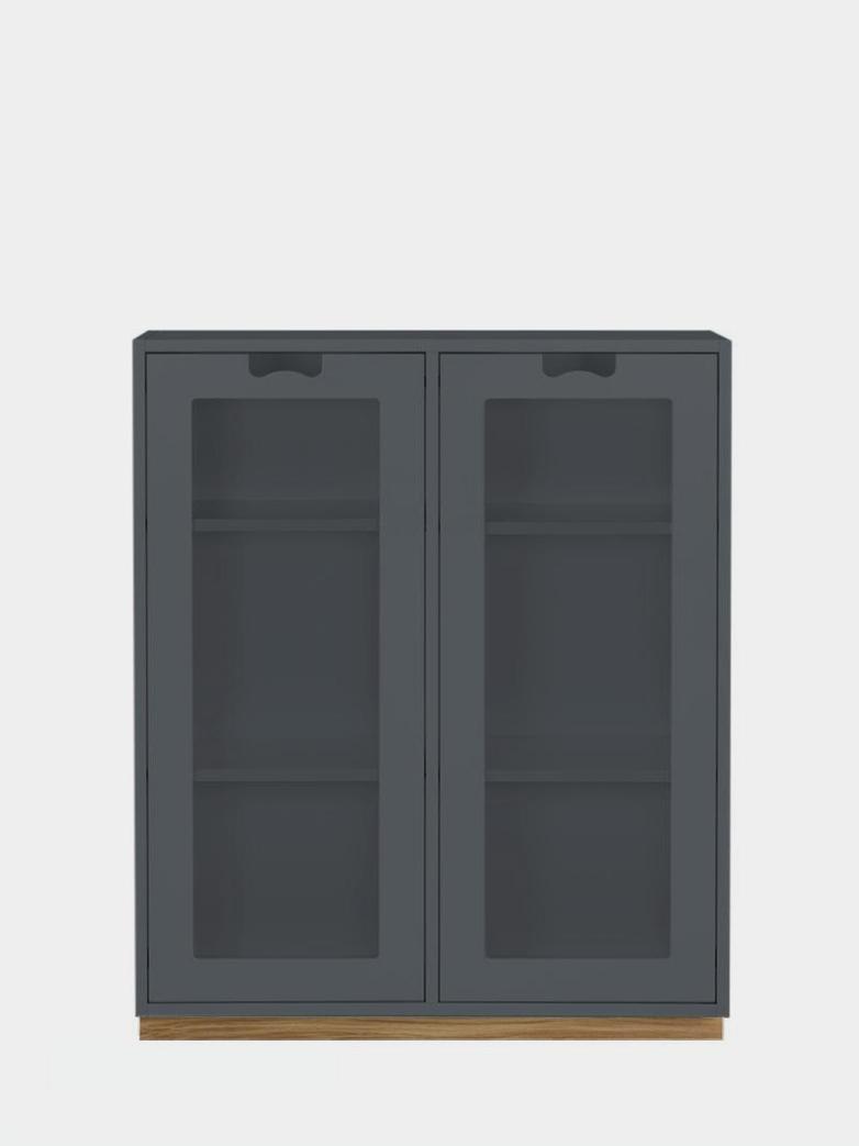 Snö E - Glass Doors - Storm Grey